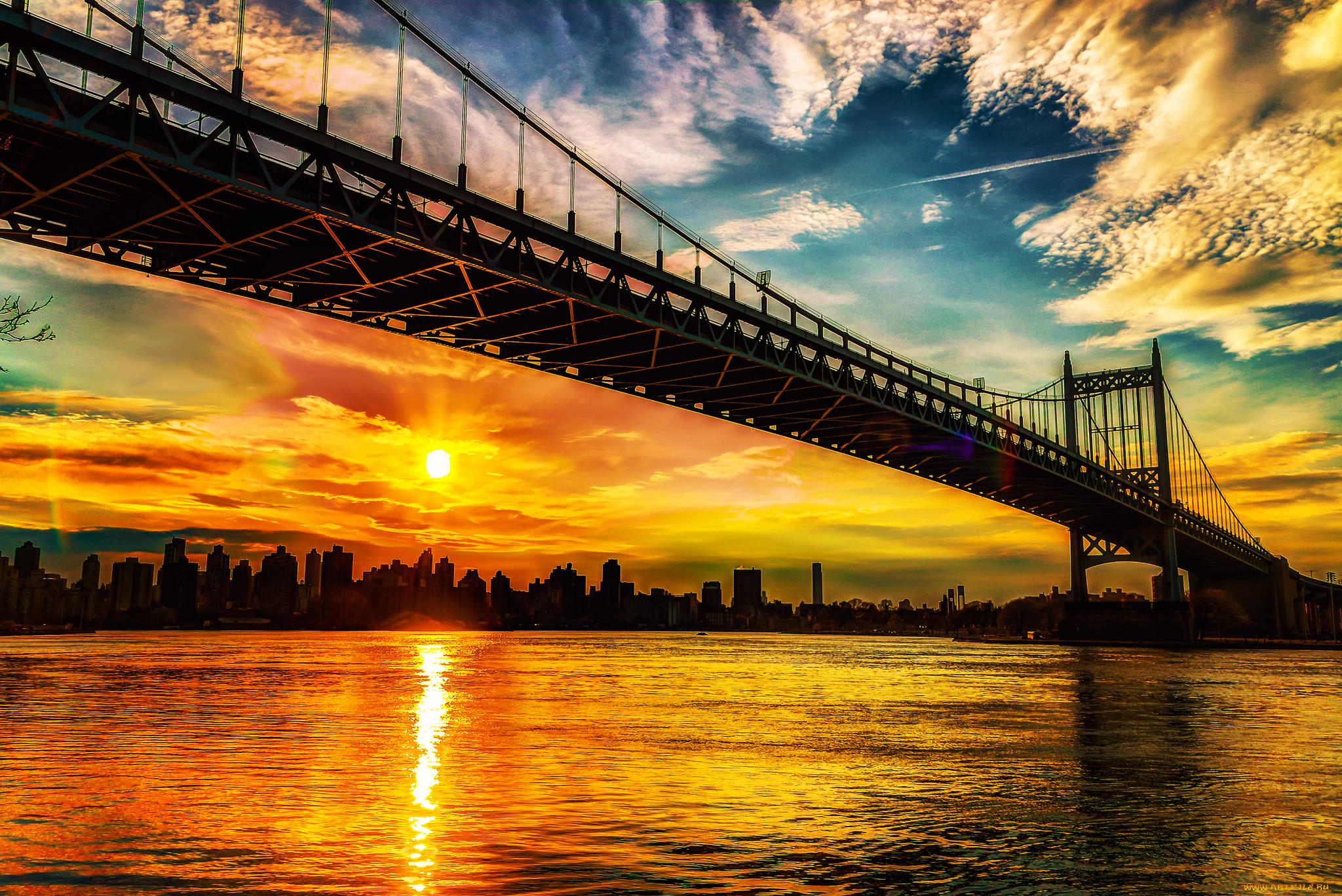 самых популярных картинки на телефон мост с закатом может быть